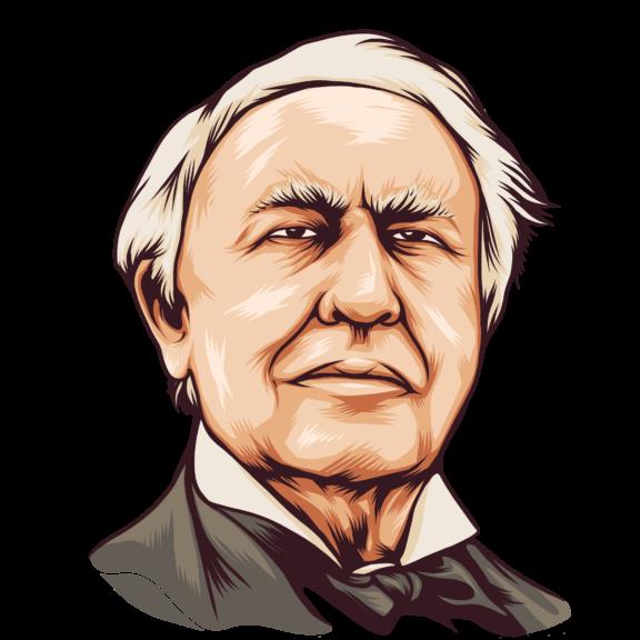 Thomas Edison Archives Subconscious Quotes